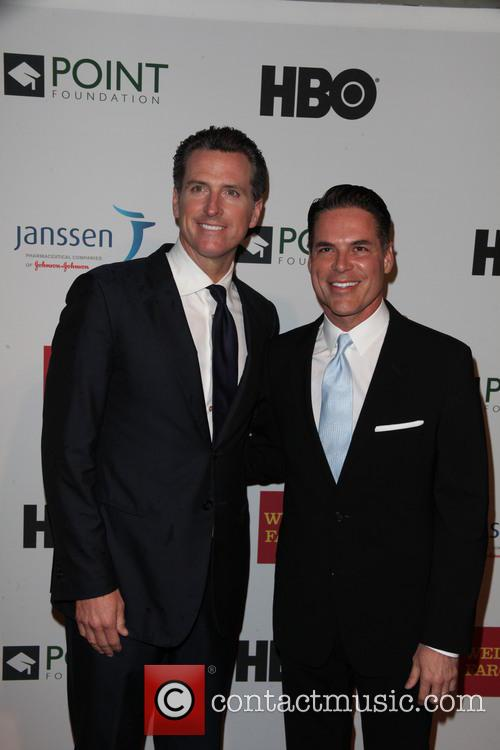 Valencia and Gavin Newsom 7