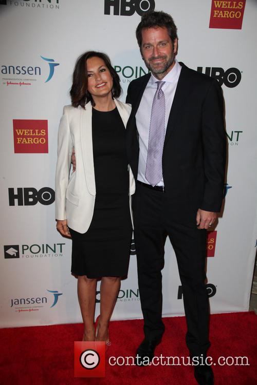Mariska Hargitay and Peter Hermann 3