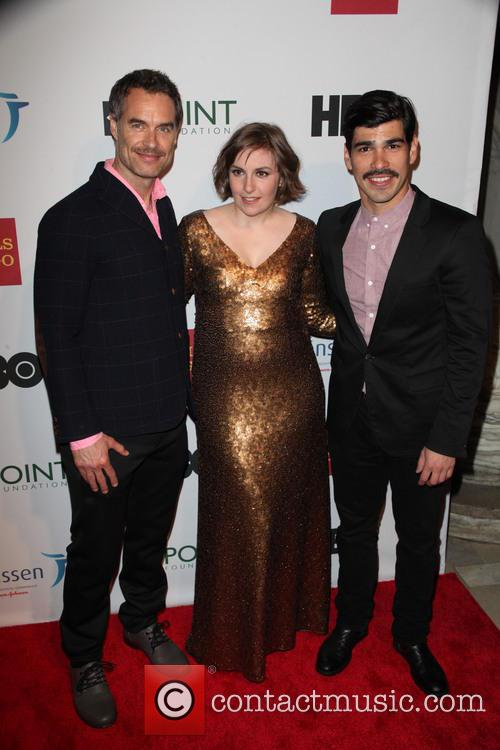 Murray Barlett, Lena Duham and Raúl Castillo 3