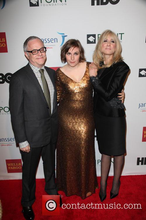 Neal Baer, Lena Duham and Judith Light 2