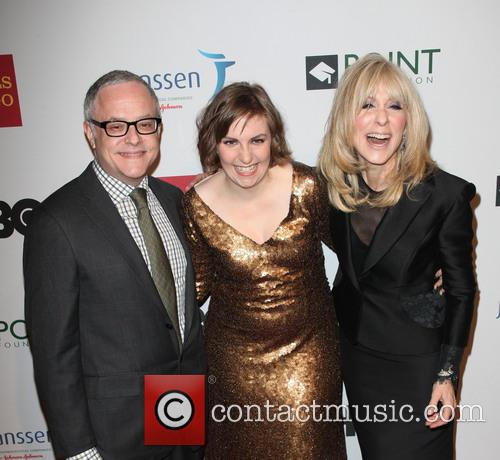 Neal Baer, Lena Duham and Judith Light 4