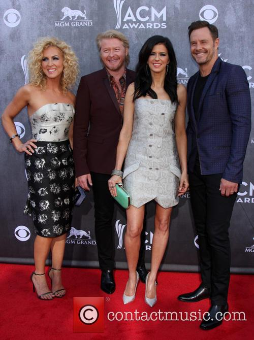Little Big Town, Karen Fairchild, Kimberly Schlapman, Jimi Westbrook, Philip Sweet, MGM Grand Garden Arena