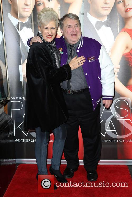 Anita Dobson and Russell Grant