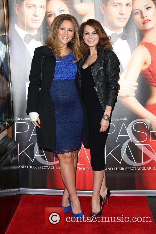 Kimberley Walsh and Kara Tointon 5