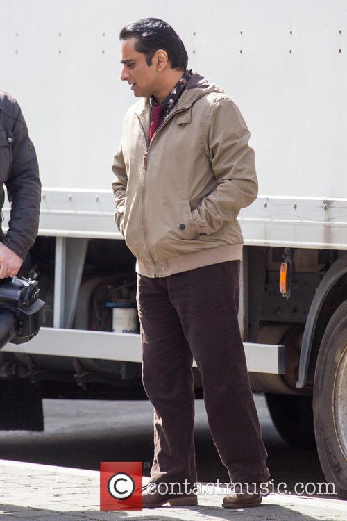 'Absolutely Anything' film set