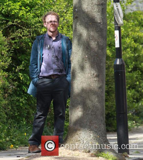 Absolutely Anything film set