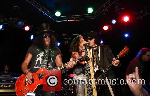 Aerosmith, Steven Tyler, Slash and Joe Perry 2