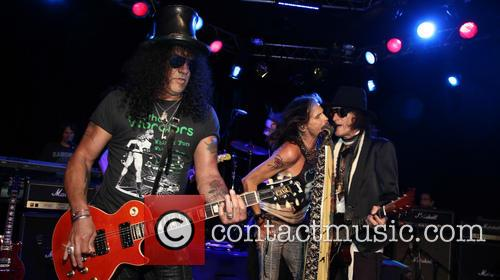 Aerosmith, Steven Tyler, Slash and Joe Perry 9