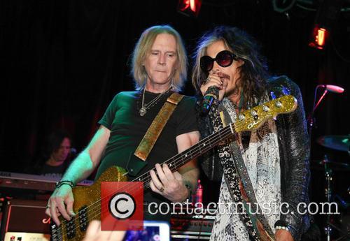 Aerosmith, Tom Hamilton and Steven Tyler 1