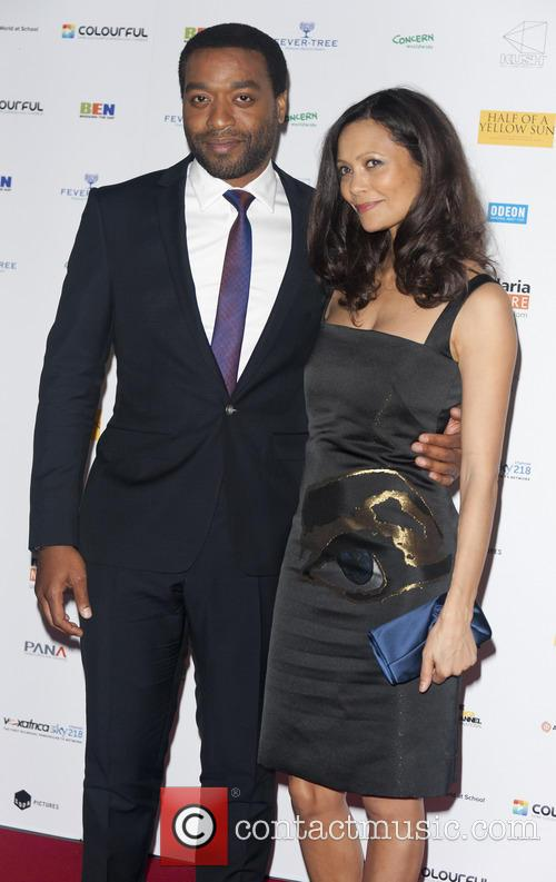 Chiwetel Ejiofor and Thandie Newton 10