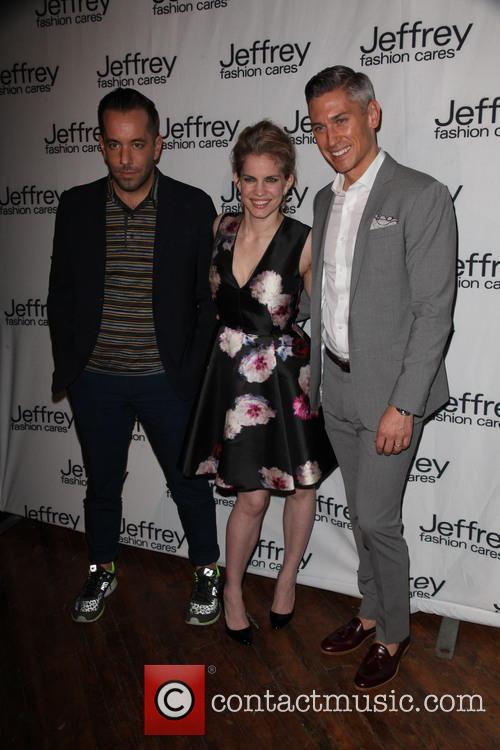 Guest, Anna Chlumsky and Justin Tarquinio 1