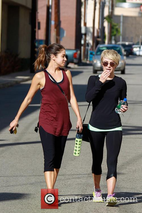 Julianne Hough, Nikki Reed and Cara Santana 7