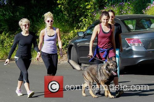 Julianne Hough, Nikki Reed and Cara Santana 11