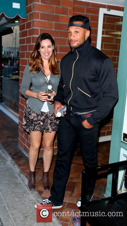 Kelly Brook and David Mclntosh 2