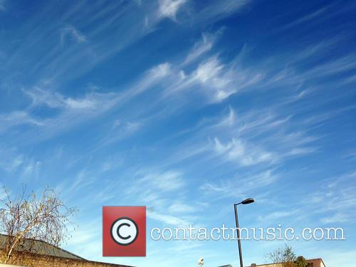 Spectacular Cirrus clouds over north London