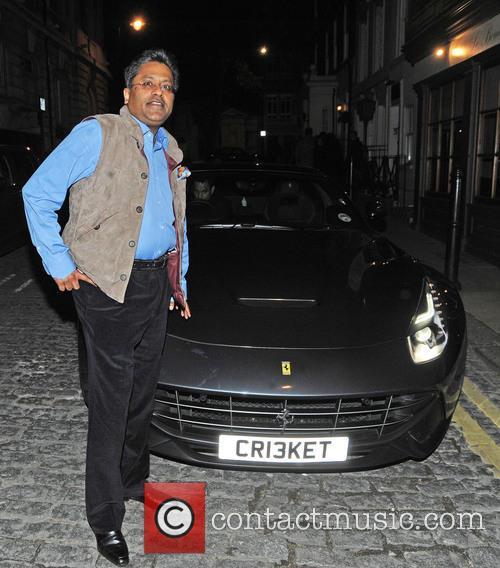 Celebrities leving Lou Lou's private members club in...