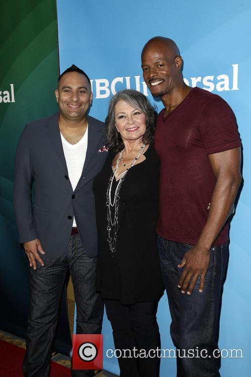 Russell Peters, Roseanne Barr and Keenen Ivory Wayans 4