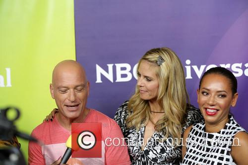 Howie Mandel, Heidi Klum and Mel B 5