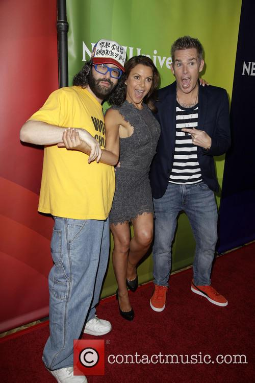 Judah Friedlander, Kari Wuhrer and Mark Mcgrath 3