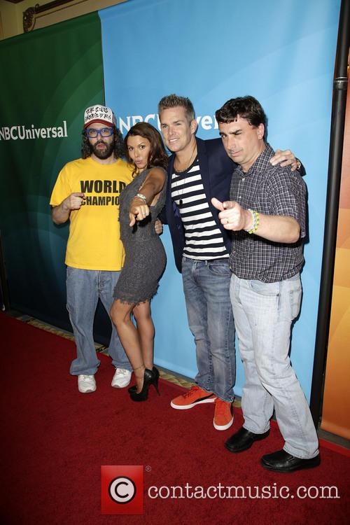 Judah Friedlander, Kari Wuhrer, Mark Mcgrath and Guest 6