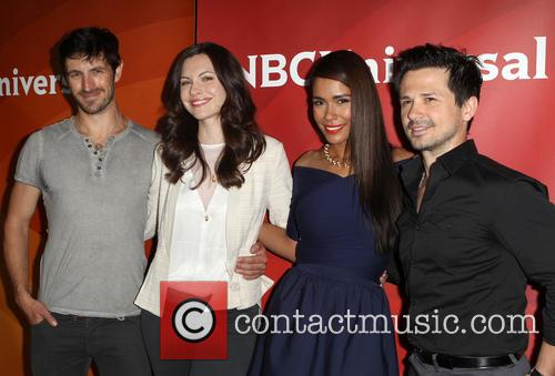 Eoin Macken, Jill Flint, Daniella Alonso and Freddy Rodriguez 1