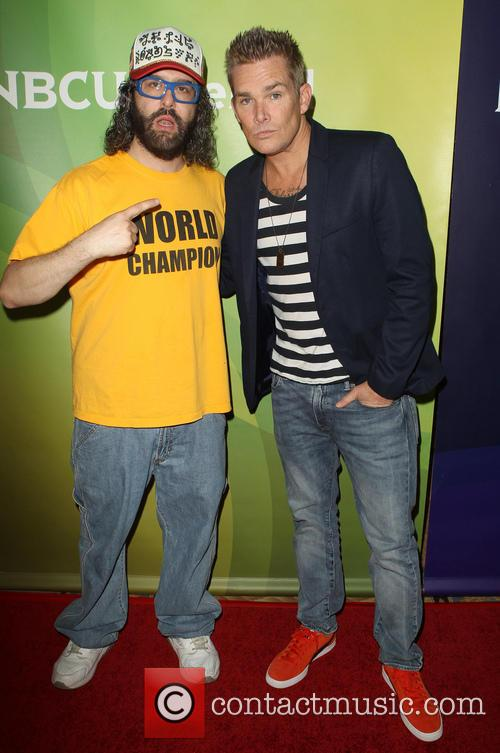 Judah Friedlander and Mark Mcgrath 8
