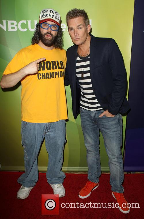 Judah Friedlander and Mark Mcgrath 11