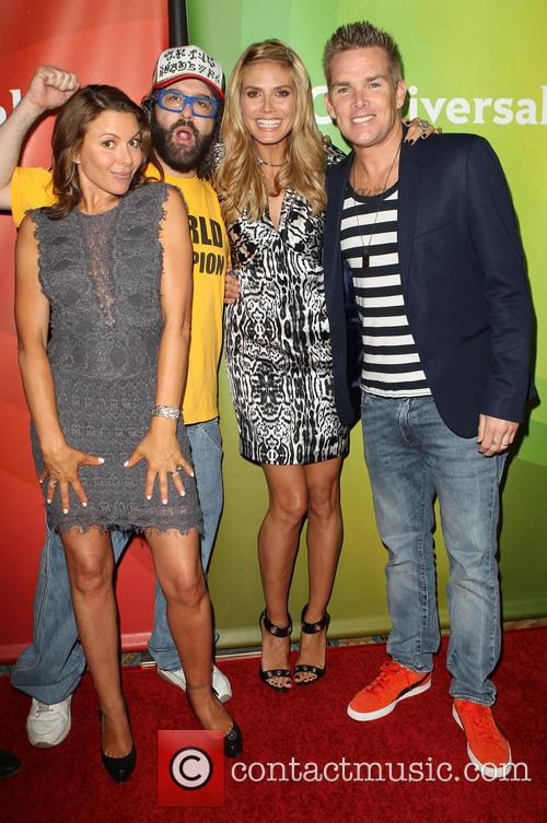 Kari Wührer, Judah Friedlander, Heidi Klum and Mark Mcgrath 6