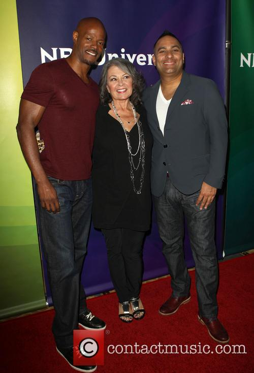 Keenen Ivory Wayans, Roseanne Barr and Russell Peters 4