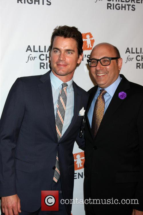 Matt Bomer, Willie Garson, Beverly Hilton Hotel