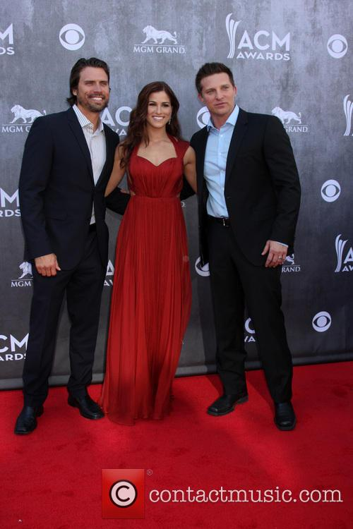 Joshua Morrow, Cassadee Pope and Steve Burton