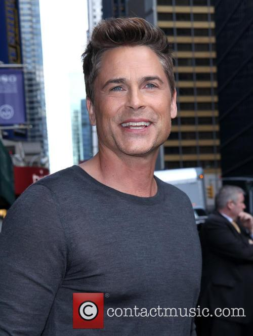 Rob Lowe, The Late Show, Ed Sullivan Theater