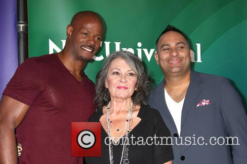 Keenen Ivory Wayans, Roseanne Barr and Russell Peters 2