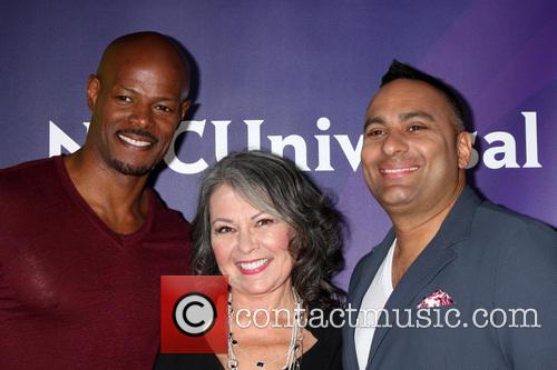 Keenen Ivory Wayans, Roseanne Barr and Russell Peters 1
