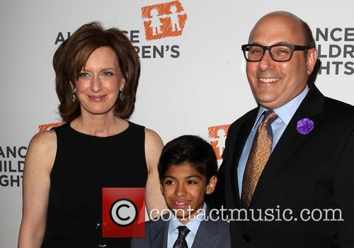 Anne Sweeney, Willie Garson and Nathen Garson 3
