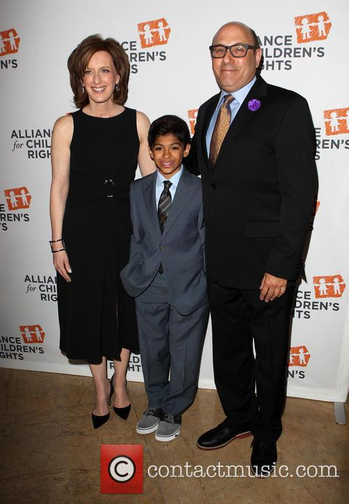 Anne Sweeney, Willie Garson and Nathen Garson 1