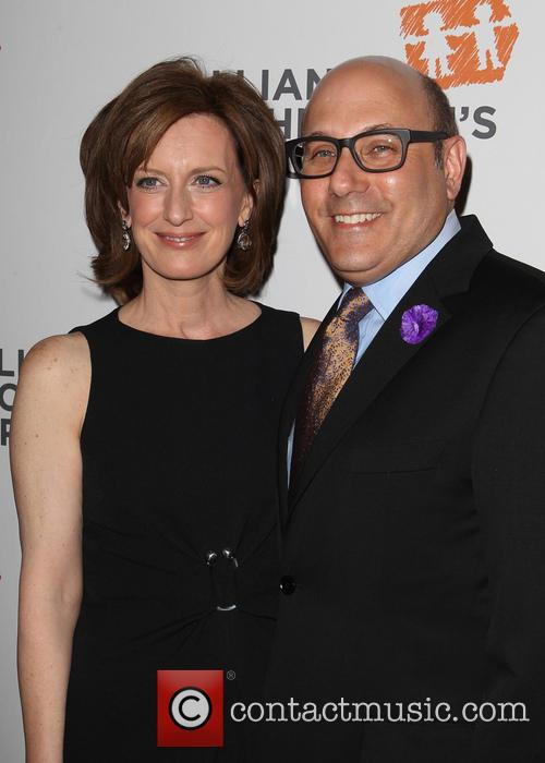 Anne Sweeney and Willie Garson 2