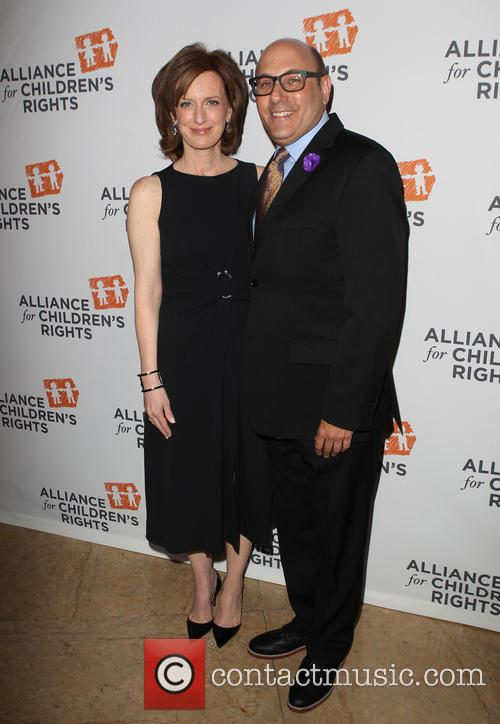 Anne Sweeney and Willie Garson 4