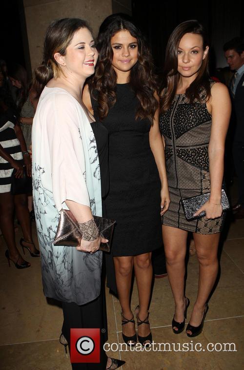 Mandy Cornett, Selena Gomez and Samantha Droke 1