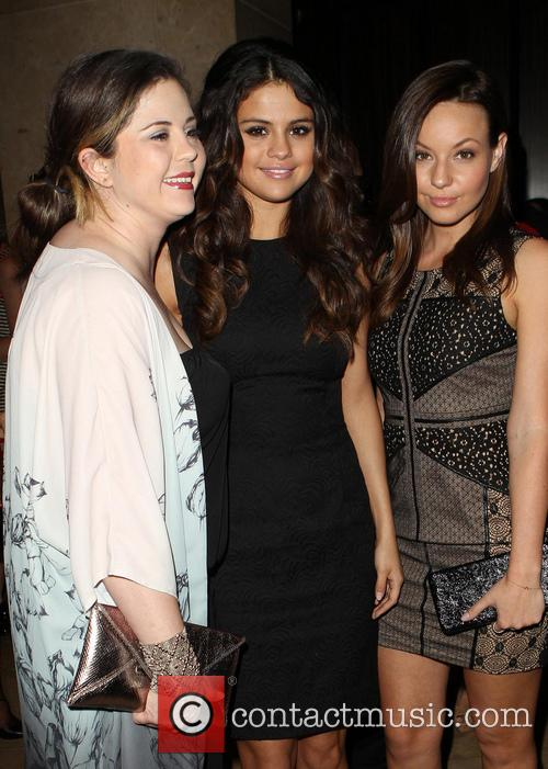 Mandy Cornett, Selena Gomez and Samantha Droke 2