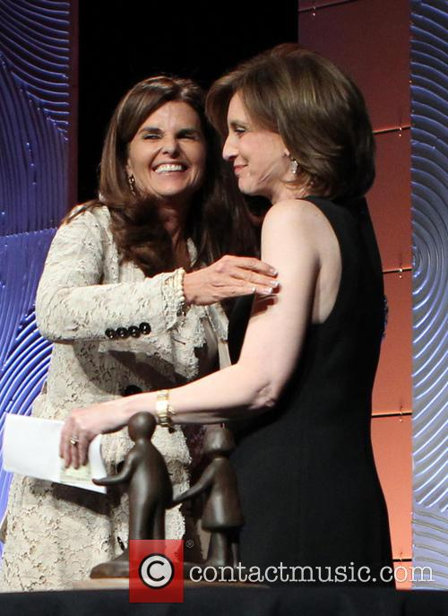 Maria Shriver and Anne Sweeney 10