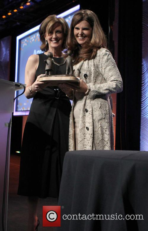 Maria Shriver and Anne Sweeney 3