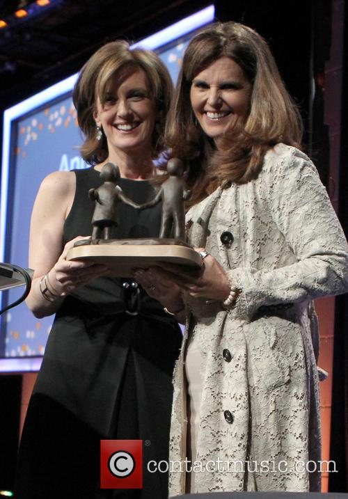 Maria Shriver, Anne Sweeney, The Beverly Hilton Hotel