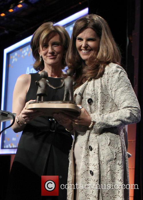 Maria Shriver and Anne Sweeney 1
