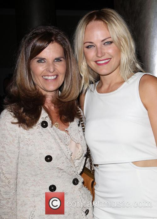Maria Shriver and Malin Akerman 2