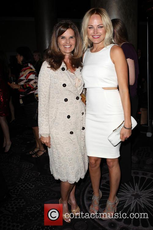 Maria Shriver and Malin Akerman 9