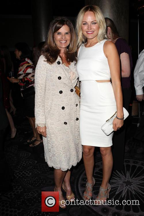 Maria Shriver, Malin Akerman, The Beverly Hilton Hotel