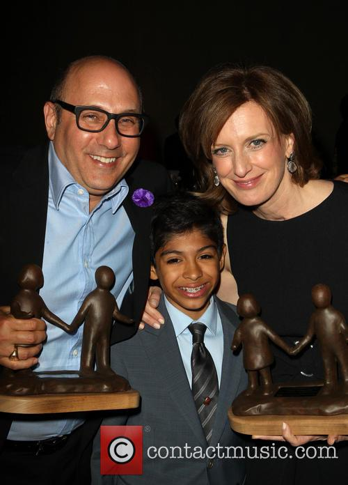 Willie Garson, Nathen Garson and Anne Sweeney 3