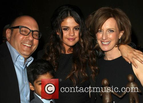 Willie Garson, Selena Gomez, Anne Sweeney and Nathen Garson 8