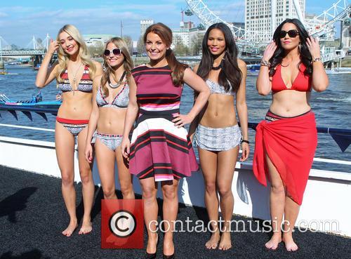 Colleen Rooney swimwear launch